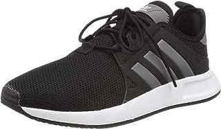 X_PLR J Black/Grey Four Textile Youth Trainers Shoes