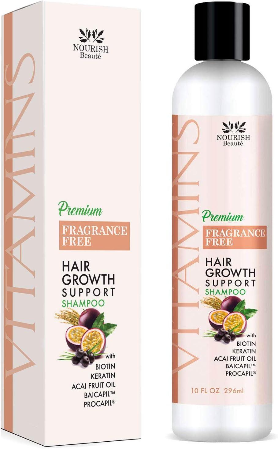 Max 67% OFF Nourish Bargain sale Beaute Vitamins Premium Shampoo for to Promote Loss Hair