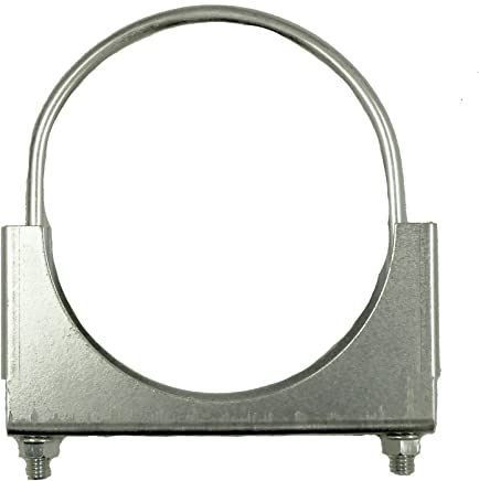 SmartParts 600400 4 Unplated Round U Bolt Saddle Exhaust Clamp