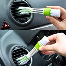 SHOPTOSHOP Car Air Outlet Vent Internal Cleaner Keyboard Dust Cleaning Brush