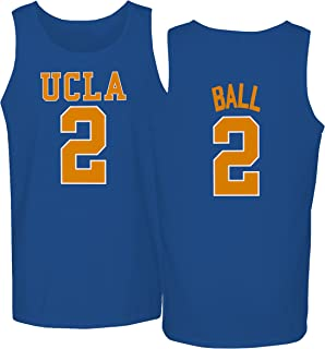 KINGS SPORTS UCLA 2017 Bruins Lonzo Ball 2 College Basketball Men's Tank Top