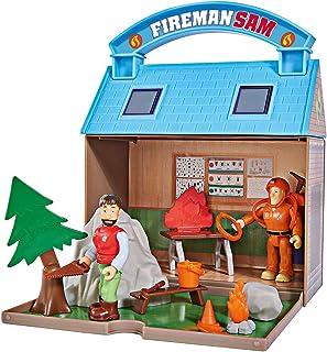 Smoby - Strażak Sam Zestaw Zabawkowy z Figurkami z Uchwytem do Noszenia, Wielokolorowy, 109251032002