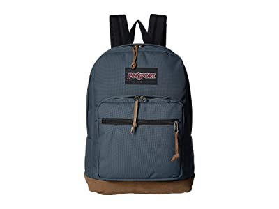JanSport Right Pack (Dark Slate) Backpack Bags