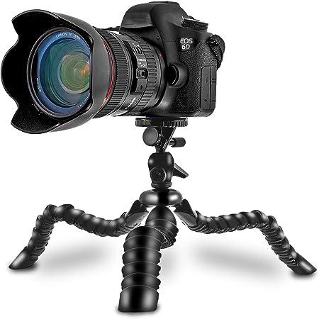 Flexibles Mini Tischstativ Tripod Stativ schwarz 1//4 Zoll 1//4 Tisch Kamera kompatibel f/ür GoPro LC2620