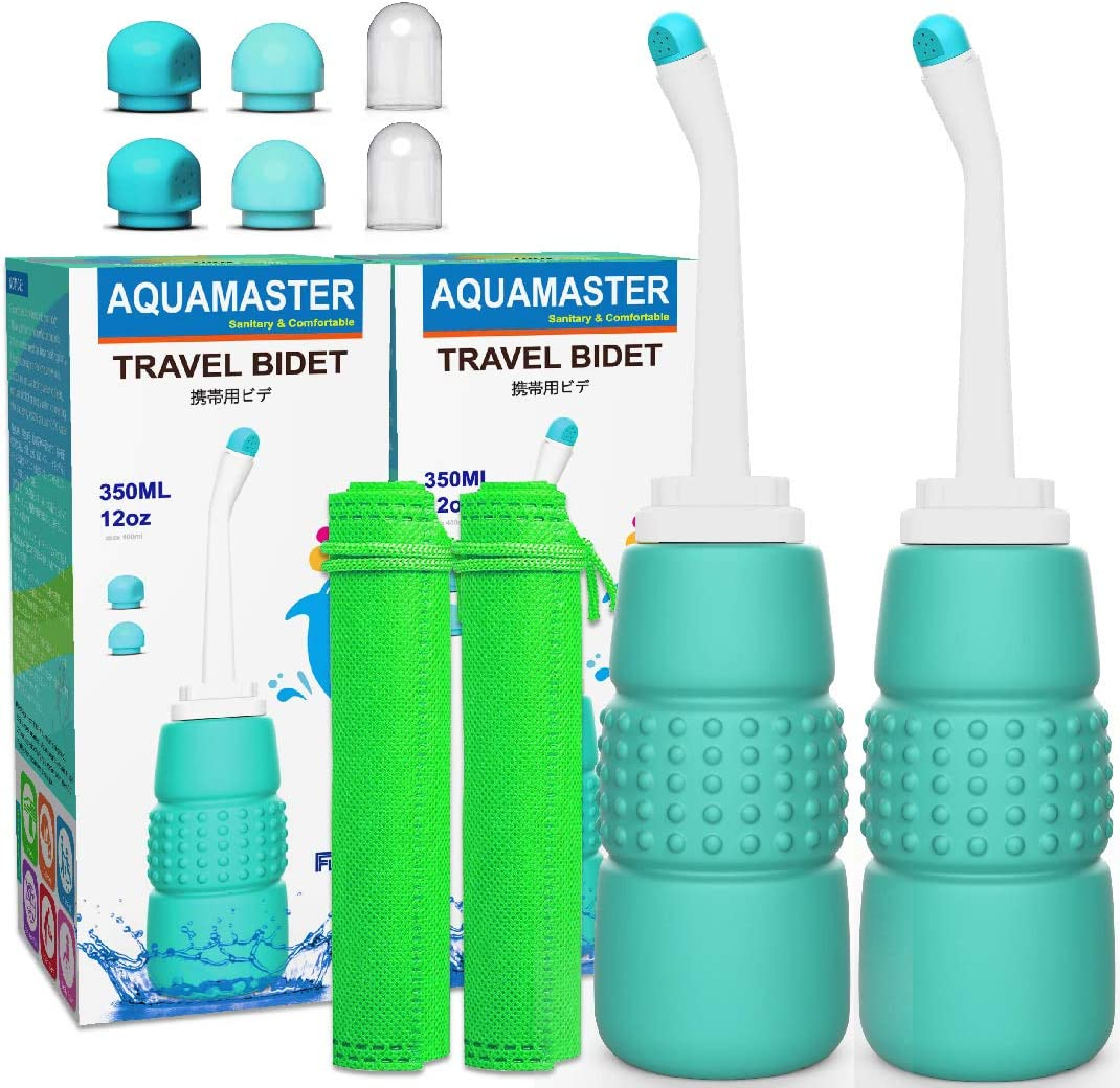 2PCS Beauty products Portable Bidet - Travel Max 72% OFF Bottle for 15o Toliet- Peri