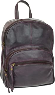 Vintage Unisex High-end Genuine Leather Casual Small Backpack