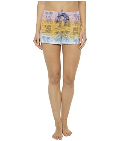 P.J. Salvage Pigment Please Palm Shorts (Multi) Women