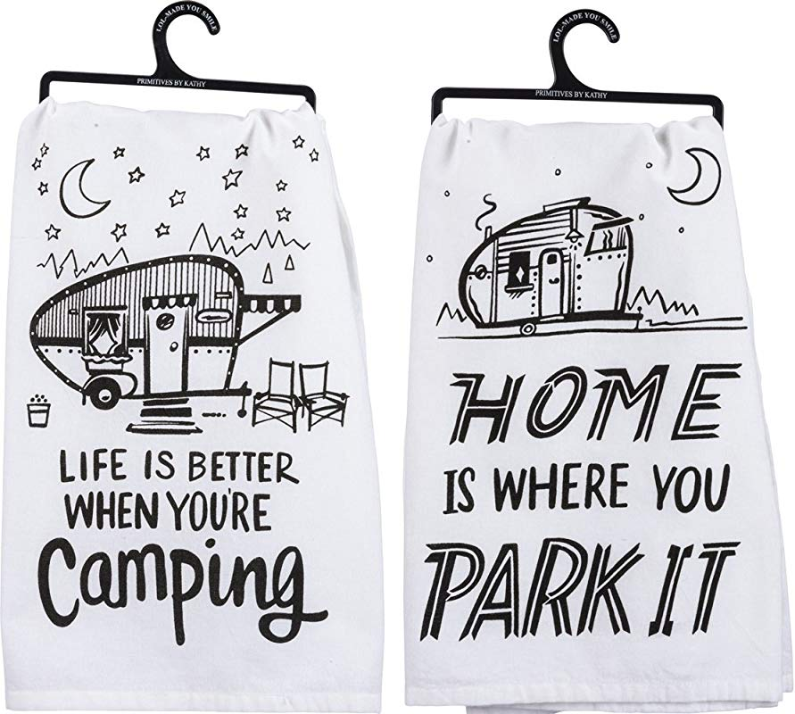 Primitives By Kathy Camper Towel Bundle Life Is Better And Park It