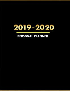 Personal Planner: 2019 -2020  Weekly and Monthly Planner - To Do List, Appointment Note Book, Financial Planner