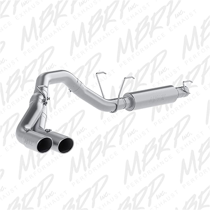 MBRP S5246AL 4 Cat Back Single Side Exit Exhaust System Aluminized Steel