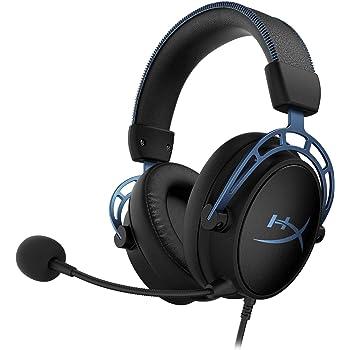 HyperX Cloud Alpha S ゲーミング ヘッドセット 7.1サラウンドサウンド 低音調節スライダー ブルー 2年保証 HX-HSCAS-BL/WW