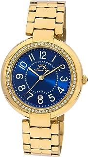 Porsamo Bleu Luxury Sofia Gold Tone Stainless Steel Ladies' Watch 952BSOS