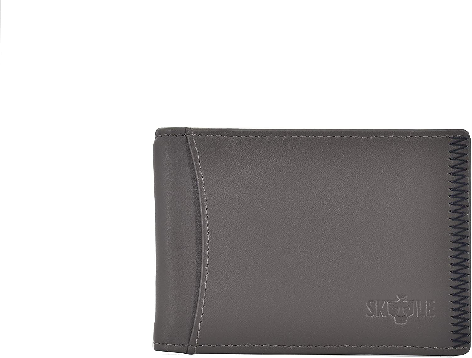SKYLE Mens Functional Bifold Wallet With Money Clip & RFID