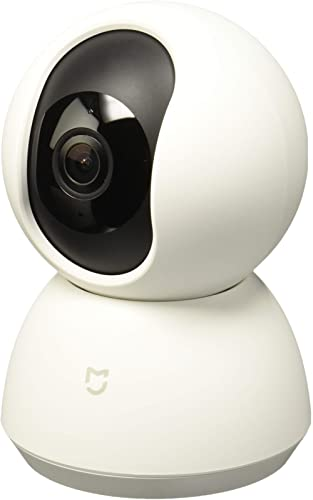 Xiaomi Mi Home Security Camera 360° IP Indoor Security Camera White Bulb - Surveillance Camera (IP Security Camera, I...