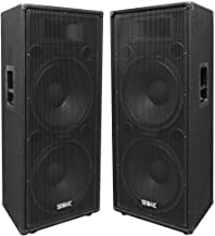 Seismic Audio - FL-155PC - Pair of Dual Premium 15