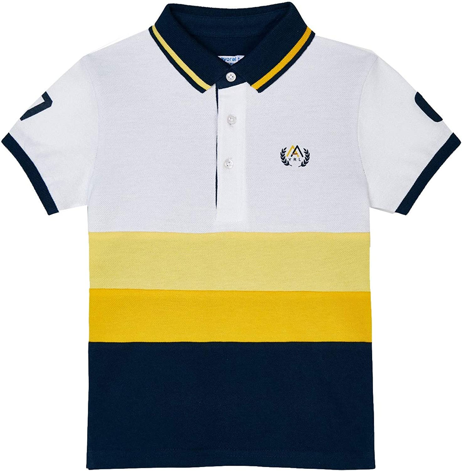 Mayoral - S/s Polo for Boys - 3109, Yellow