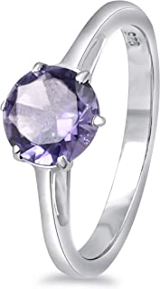 Pink Morganite And Sapphire, London Blue Topaz, Red Garnet, Emerald, Peridot, Citrine, Amethyst 1.52 Ct Round 925 Sterling...