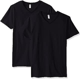Fruit of the Loom Men's V-Neck T-Shirt(Pack of 3)