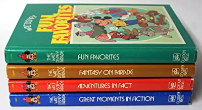 Walt Disney Parade: Fun Favorites, Great Moments in Fiction, Adventures in Fact, and Fantasy on Parade, 4-hardback SET (The Walt Disney Parade, 1,2,3,4)