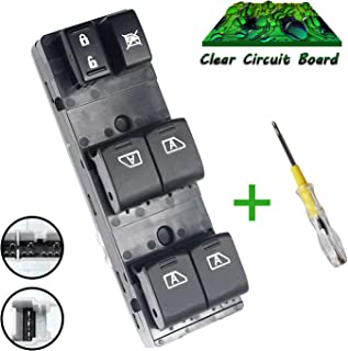 Beneges Master Power Window Switch Compatible with 2007-2008 Infiniti G35, 2009-2013 Infiniti G37, 2011-2012 Infiniti QX56 G25, 2009-2012 Nissan Maxima Driver Side 254019N00D