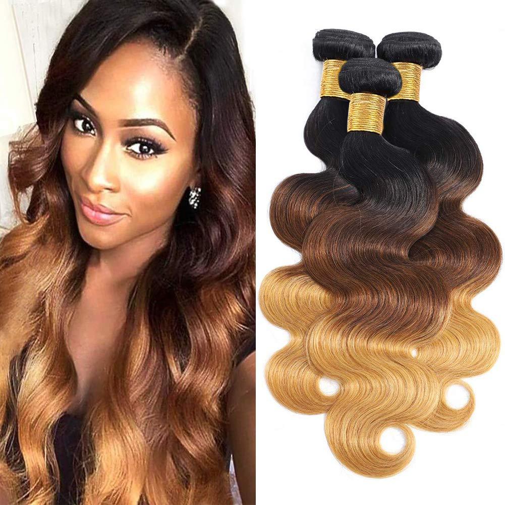 FHEAICR Human Hair Bundles 18 20 22 27 3 1B 4 inch Color Max 40% OFF Deluxe
