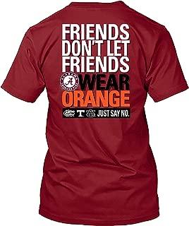 friends don t let friends wear orange georgia