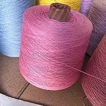 500g parel kanten draad katoen handgemaakte haak stok naald draad DIY vestigan sjaal breien wol (Color : 26)