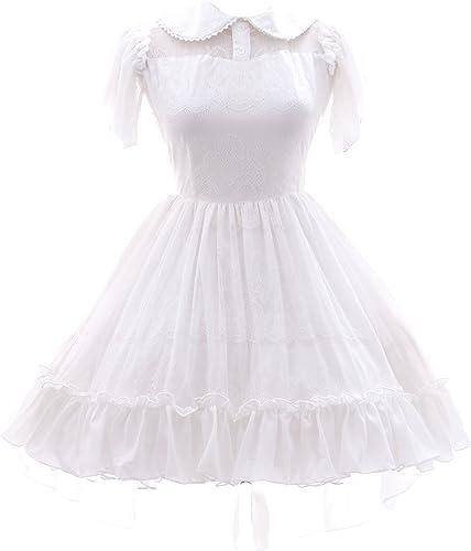 Kawaii-Story JL 582blanc Lace Sweet Classic Gothic Lolita Costume Robe Cosplay