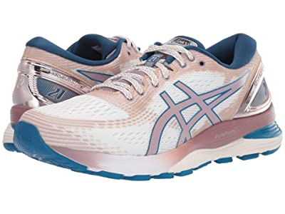 ASICS GEL-Nimbus(r) 21 (White/Vilolet Blush) Women