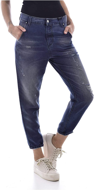 Diesel Womens Jeans Fayza-Evo 0686G Relaxed Boyfriend Blue Used