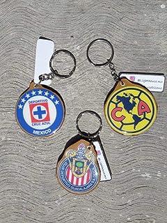 llavero artesanal America/Chivas/Cruz azul/varios equipos de futbol