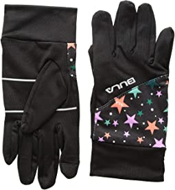 Kid Printed Stretch Gloves (Big Kids)