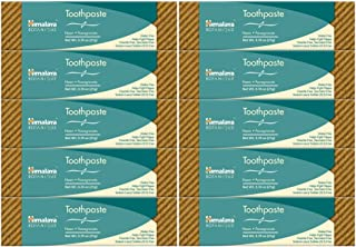 Himalaya Neem and Pomegranate Toothpaste (10 Pack) Travel Size 0.75 oz TSA Approved Size