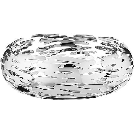 Alessi BM02 Barknest Corbeille ronde - acier inoxydable 18/10 brillant
