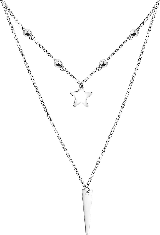 Sofia Brand Cheap Sale Venue Milani - Women's Necklace 925 San Diego Mall Ball Silver Bar Penda Star