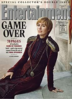 Entertainment Weekly Magazine (March 15, 2019) Game of Thrones Game Over Cersei Lannister Cover 6 of 16