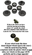 Extremely Strong;15 Year Breakage Warranty; Strongest Roller and Guide Wheels for Some Total Gym 2000, 3000, 3000 XL, and a Few Very Early XL Set of 4 View All Pictures to Determine Compatibility!