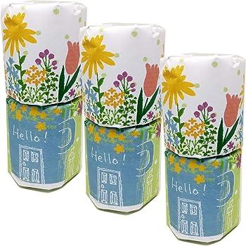 お花のお引越し 【ご挨拶 粗品 ギフト 引っ越しのあいさつ用】トイレットペーパー 3個セット