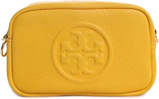 Tory Burch Women's Perry Bombe Mini Crossbody Bag Leather Cross Body