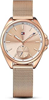 Tommy Hilfiger Casual Watch For Women Analog Stainless Steel