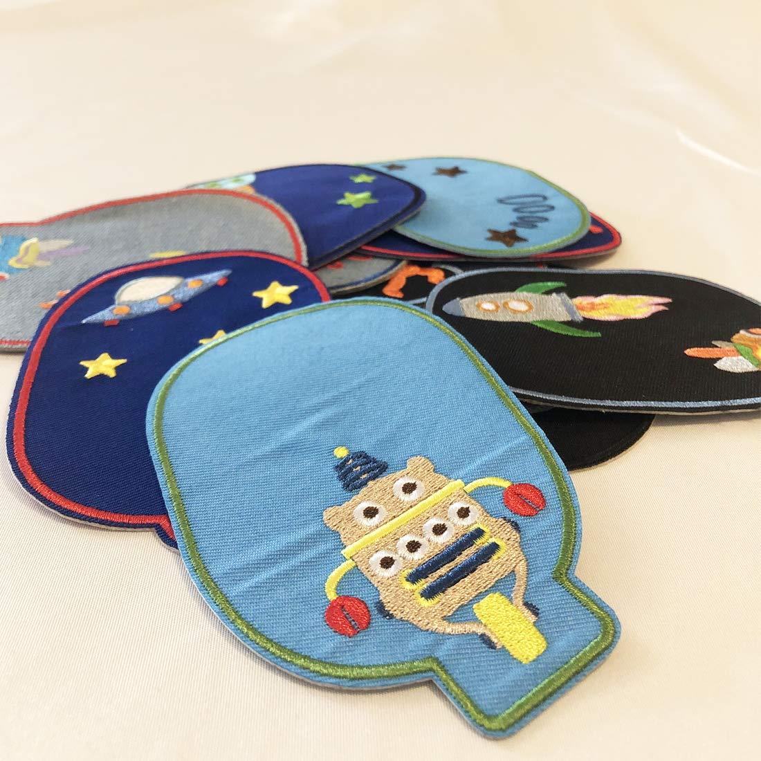 Parches bordados para planchar con diseño de astronauta espacial ...