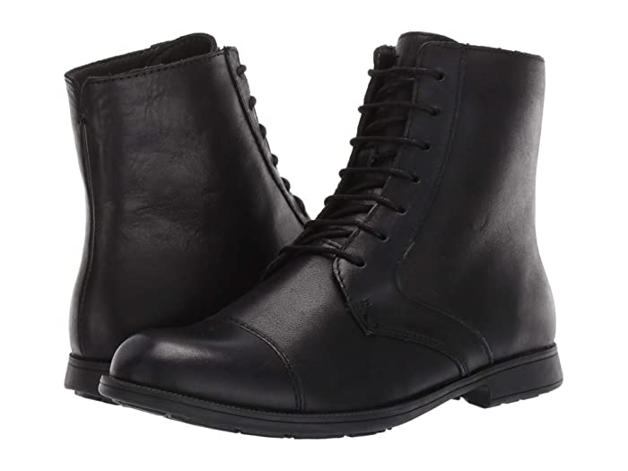 Edwardian Shoes & Boots | Titanic Shoes Camper 1913 Black Womens Shoes $139.50 AT vintagedancer.com