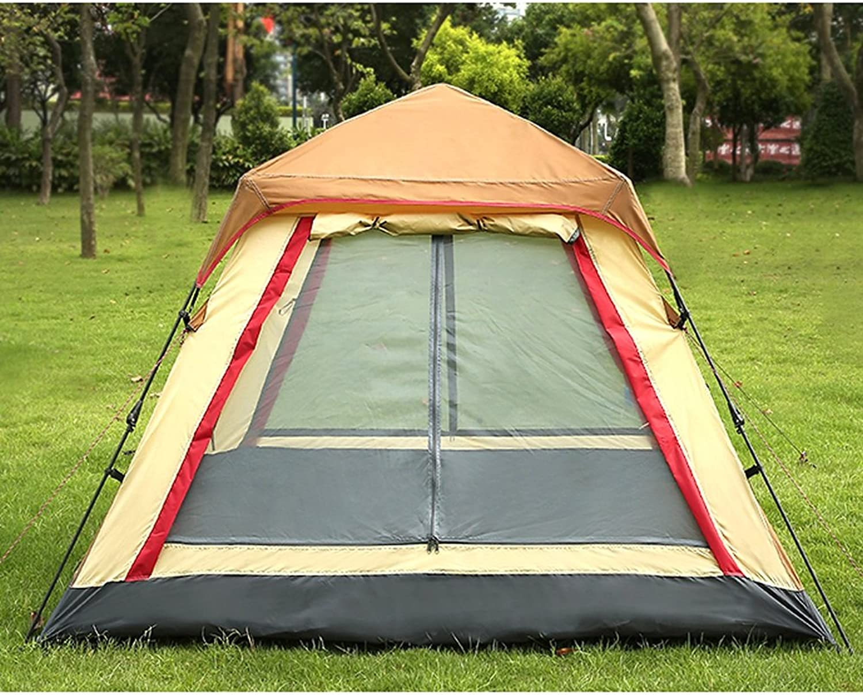 Automatische Outdoor - Zelt Zelt Zelt für 3-4 Personen Camping Zelt mit Regen. Zelt B07GK17G7K  Jugend überschwemmen 2eb61b