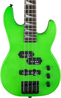 Jackson JS Series Concert Bass Minion JS1X Bass Guitar (Neon Green)