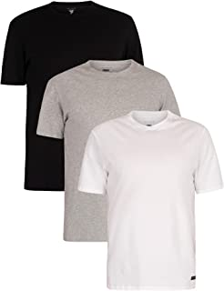 Ted Baker Men's Crewneck Stretch Cotton Tshirts, 3 Pack