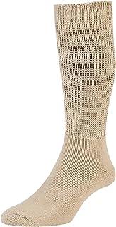 2 Pk Mens Ladies HJ Hall Cotton DIABETIC Smooth Easy Fit Cushion Sock Hj1351