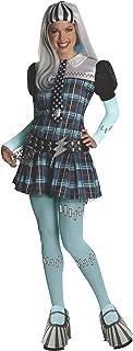 Monster High - Disfraz de Frankie Stein para mujer, Talla ú
