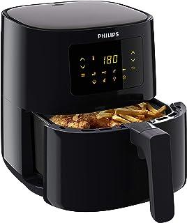 Philips HD9252/90 Airfryer Compact Noir - Bien plus qu'une friteuse : faites cuire, frire, rôtir et griller tous vos aliments