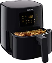 Philips Airfryer Essential L - 800 g Friet - 90% Minder Vet - Zwart