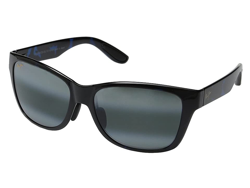 Maui Jim Road Trip (Blue/Black Tortoise/Neutral Grey) Polarized Fashion Sunglasses
